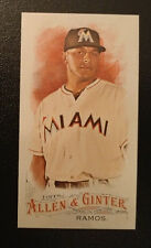 2016 Topps Allen & Ginter Mini #51 - A J RAMOS - Miami Marlins