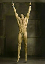 CHENPAT1093 Naked Muscular man portrait handmade paint oil painting art canvas