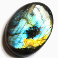 Cts. 40.15 Natural Spectrolite Labradorite Cabochon Oval Cab Loose Gemstones
