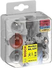 BOX AMPOULES + FUSIBLES H4 12V 55W MaxiBox BOSCH 1 987 301 111 Automobile New