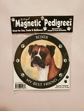 Pet Gifts USA Magnetic Pedigrees Dog Magnet - Boxer My Best Friend