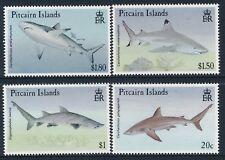 1992 PITCAIRN ISLANDS SHARKS SET OF 4 FINE MINT MNH/MUH