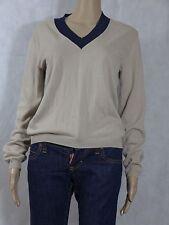 Prada Beige and Black Light Sweater Unisex Medium 10 12