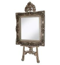Antique Silver Shabby chic Easel ART DISPLAY PICTURE WEDDING MENU MIRROR STAND