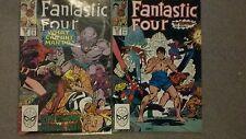 Marvel Comics - Fantastic Four #327  /#328
