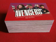 THE AVENGERS - DEFINITIVE TRADING CARD COLLECTION Series One - Strictly Ink 2003