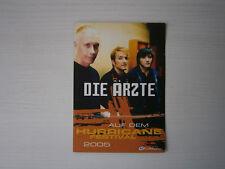 ██ Die Ärzte - Flyer - Hurricane Festival 2005 ! Farin Urlaub Bela B. ! SELTEN !