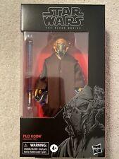Star Wars The Black Series Plo Koon 109