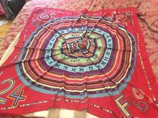"""ICONIC LUXE most coveted collectible HERMES ''TOHU-BOHU"""" cashmere/silk 54"""" shawl"""