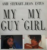 "Amii Stewart And Deon Estus-My Guy My Girl Vinyl 12"" Single.Sedition EDITL 3310."