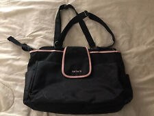 Carter's Diaper Bag Baby Tote. No Changing Pad. But In Excellent Condition