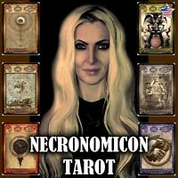 ask me now a consultation with necronomicon tarot card deck cartomancy psychic