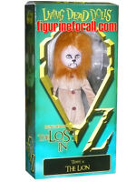 """Living Dead Dolls The Lost in OZ TEDDY as THE LION 10"""" DOLL Mezco Sealed new"""