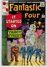 FANTASTIC FOUR #29 4.0 JACK KIRBY ART OFF-WHITE PAGES SILVER AGE