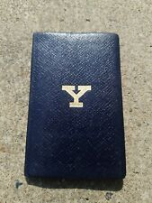 1952 Yale University Book Leathersmith.  T J & J Smith Made in England Lincoln