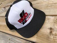 Bud Nascar Bill Elliott Snapback Deadstock Hat Black Racing White Cap  NWOT