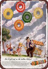 1944 Life Savers Candy Reproduction Metal Sign 8 x 12 made USA