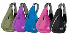 Choices Sling Chest Pack Bag Sport Backpack Crossbody Messenger Shoulder DayPack