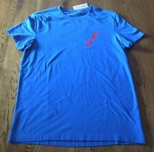 American Eagle Outfitters Core Flex Blue T-Shirt Men's Size M Medium NWT!!!
