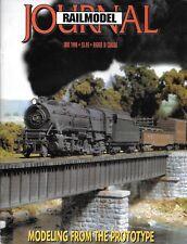 Railmodel Journal June 1998 Great Norther GP30 Alco PA1 Union Pacific Iowa BN
