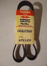 HANNA Automotive Serpentine Belt Part # 06K0560