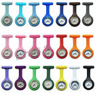 NEW Cute Silicone Nurse Watch Brooch Fob pocket Tunic Quartz Movement Watch SM