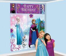 SET DI SCENA DA PARETE FROZEN Party Festa Compleanno Disney Elsa Anna 999262