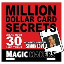 Million Dollar Secrets With Cards by Simon Lovell (Dvd) 30 card tricks and Moves