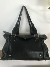 MODALU LONDON DESIGNER LARGE SLOUCH BLACK LEATHER SHOULDER BAG