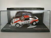 1/43 TOYOTA CELICA SAINZ GT-FOUR 1990 RALLY RALLYE IXO CAR ESCALA DIECAST