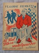 Vlaamse Filmkens N°246 Mr Paul Peters wordt Speurder Averbode