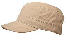 STETSON Sun Guard Army Cap Army Style Cotton Gosper 41 BEIGE S - XXL Trend