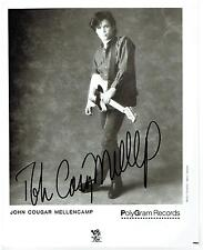 JOHN MELLENCAMP - Genuine Signed Autograph - STUNNING & GENUINE-AFTAL REGISTERED