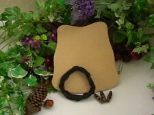 Protección de cuero brazo de tiro con arco Brace Puño tradicional Veg Bronceado arco DACTILERA Hágalo usted mismo kit
