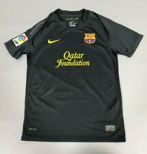 BARCELONA 2011/2012 AWAY FOOTBALL SOCCER CAMISETA SHIRT JERSEY NIKE BOYS SIZE M