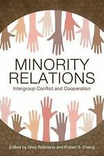 Minority Relations : Intergroup Conflict and Cooperation (2017, Hardcover)