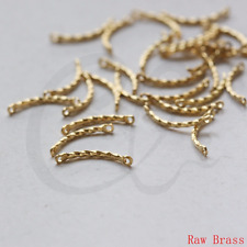 100 Pieces Raw Brass Connector - Link - Bar 15x1.2mm (3362C-L-132)