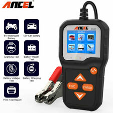 Battery Tester 6V 12V Car Motorcycle Battery Analyzer Charging Cranking Tools US