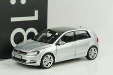 VW Golf VII 7 Volkswagen tungsten silver silber 1:18 Norev Dealer