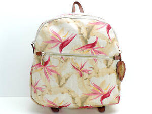 Tommy Bahama Destin Backpack Handbag Birds Of Paradise NEW!