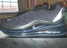 Nike Air Max 720 MX 720-818- Black/Metallic Sliver- US Men Sz 11.5- New