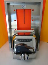 EXCEL XLERATOR XL-CX HIGH SPEED HAND DRYER W 40501 RECESS WALL MOUNT INCLUDED