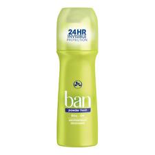 Ban Powder Fresh Roll-On Deodorant 3.5 oz