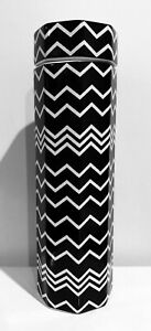 Missoni for Target Stoneware Jar with Lid Canister Black & White Zig Zag Pattern