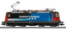 """Märklin H0-AC 37306 E-Lok Re4/4II SBB Ep4(2000) ro/blau """"Zugkraft Aargau"""" (CH)"""