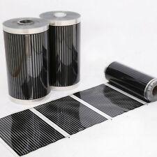 Heizfilm Infrarot Heizfolie Heizung Heizmatte 0.5*2 m AC 220V Heizmatten Neu