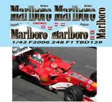 1/43 FERRARI F 248 F1 F2006 2006 MICHAEL SCHUMACHER DECALS TB DECAL TBD129