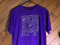 Vtg Nike Dri-Fit Kobe Bryant Black Mamba KB 24 Purple Tee Shirt Large