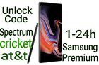 Unlock Code Premium Samsung AT&T Xfinity CRICKET Spectrum Note 10+ 9 S10+ S10e