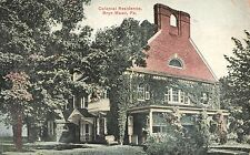 Colonial Residence in Bryn Mawr PA 1910